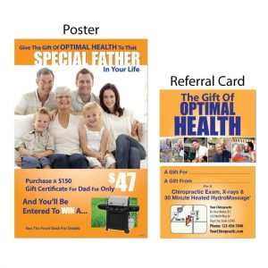 boost referrals, gain new patients, fathers day campaign